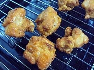 フライパンで♪定番の鶏唐揚げ