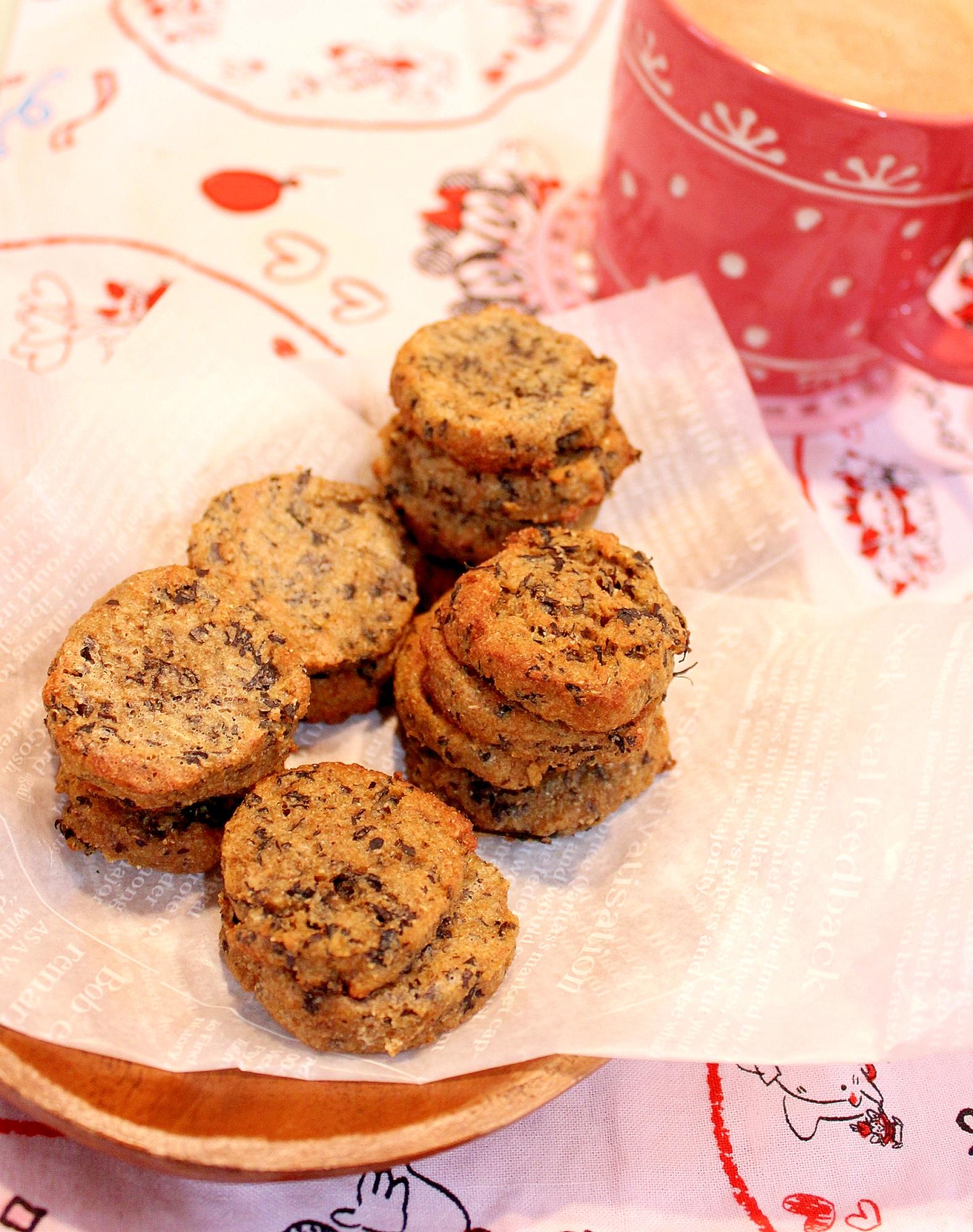 低糖質ノンオイル♪紅茶の薬膳アイスボックスクッキー
