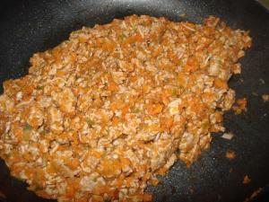 アレンジ可能な簡単挽き肉常備菜