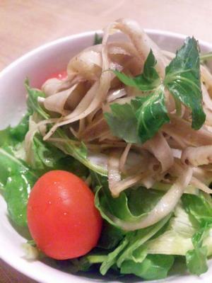 たっぷり香り野菜のサラダ(梅雨)