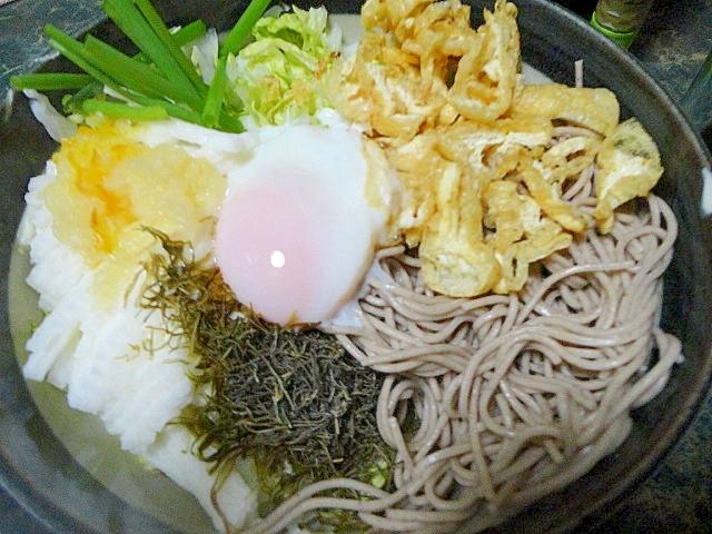 柚子蕎麦サラダ