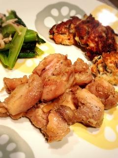 簡単つけおき冷凍レシピ☆楽ウマ鶏肉の山賊焼風