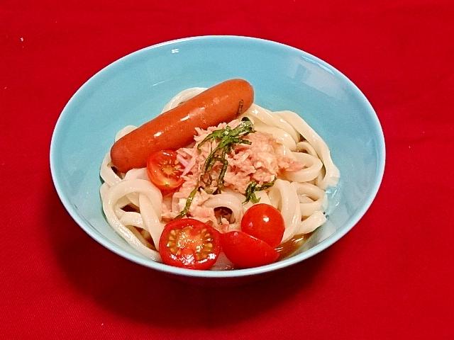 うちの麺「サラダうどん」