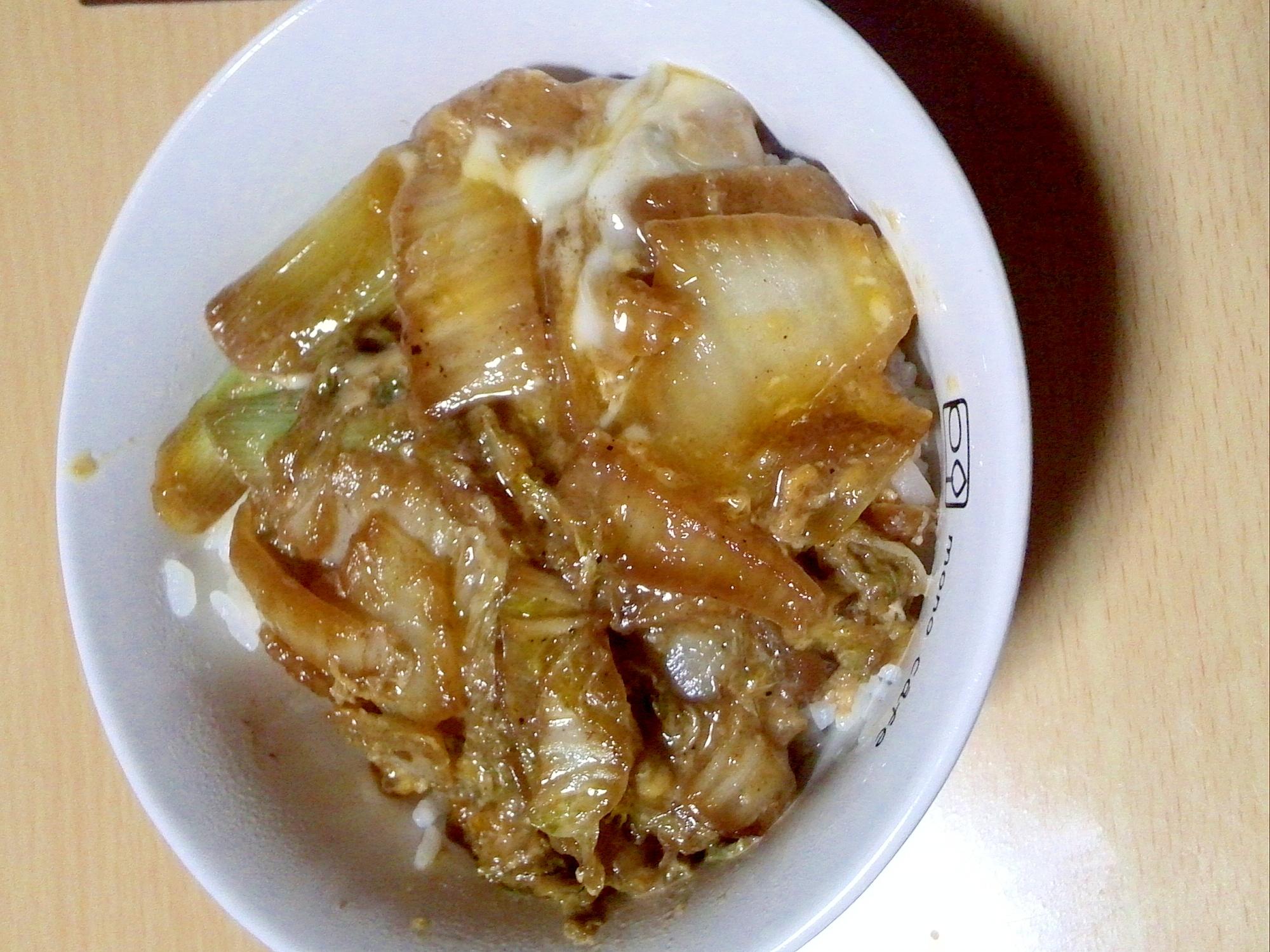すきやき風味の卵とじ丼