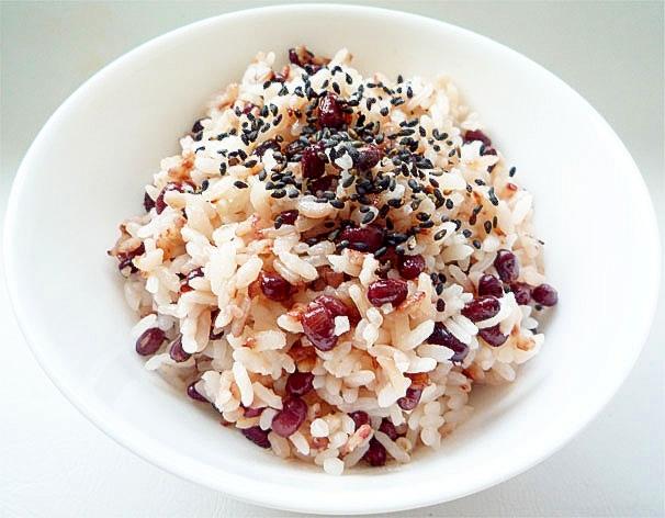 小豆の炊き込みご飯