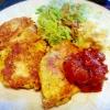鶏むね肉で*節約*ピカタ☆ お箸で切れる♪の参考画像