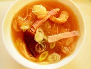 春雨の簡単こくうまスープ