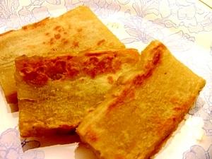 簡単おやつさつま芋の胡麻塩焼き
