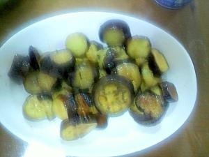簡単、美味しい、ナスの生姜醤油炒め