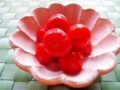 ミニトマトの煮浸し