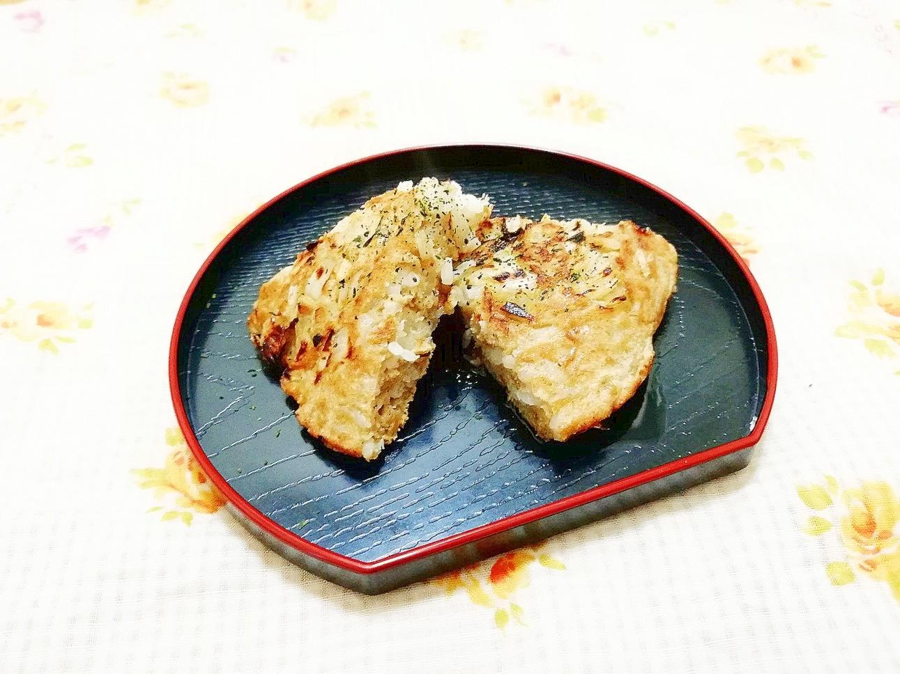 玉葱入り♪蕎麦粉と米粉のおかずパンケーキ レシピ・作り方 by 仄香♪|楽天レシピ