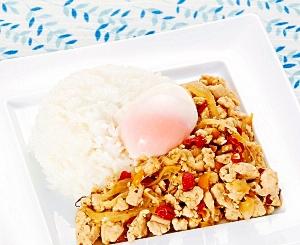 楽天マート☆タイ風ひき肉のバジル炒めセット
