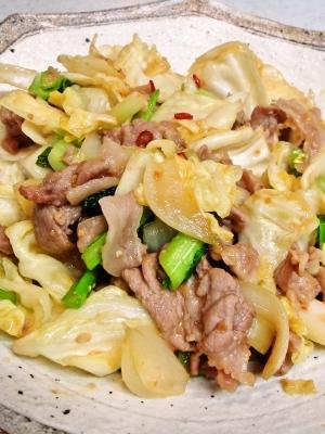 野菜たっぷり♪激ウマ回鍋肉