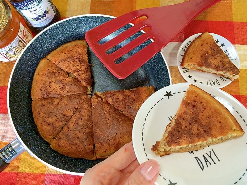 【フライパン】ホットケーキミックスで簡単ぐりぐらカステラ