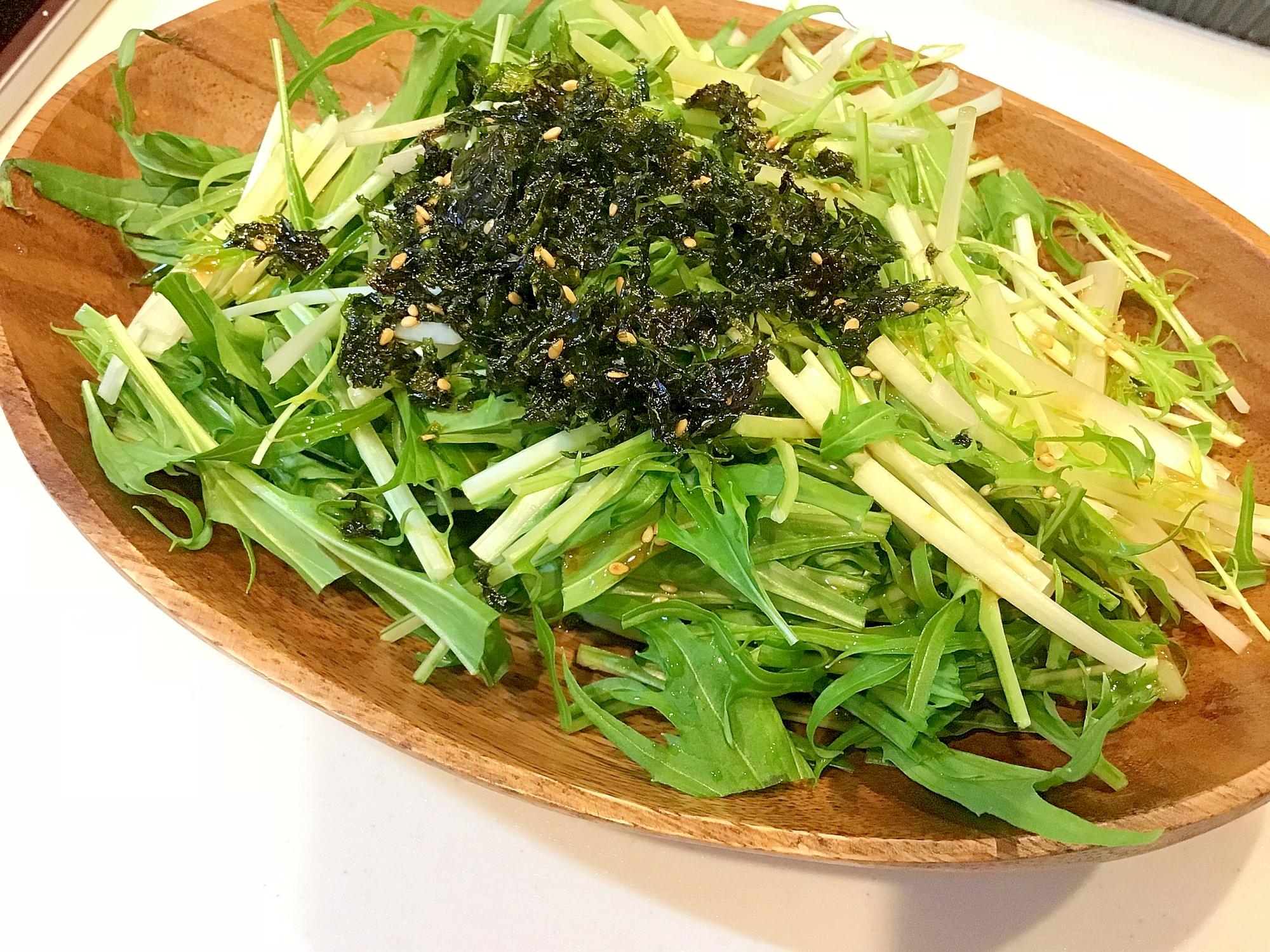 簡単混ぜるだけ韓国風チョレギサラダ