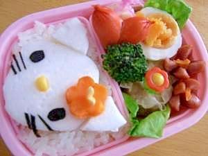 キティ ちゃん お 弁当