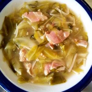 キャベツ&ベーコンのスープ煮