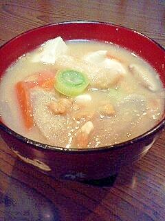 山形の郷土料理*本格的な納豆汁