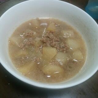 和食。蕪の煮物