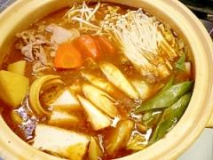 市販のルウで作るカレー鍋☆
