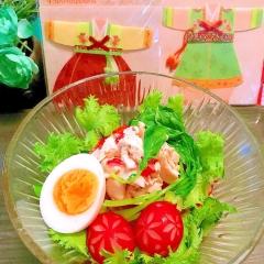 もっちもち韓国春雨の名古屋風?さっぱりピビン麺