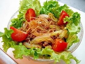 ダイエットにも*すき焼き風味の春雨サラダ