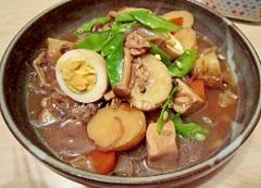 新玉・新じゃがの高野豆腐入り味染み込む肉じゃが♪