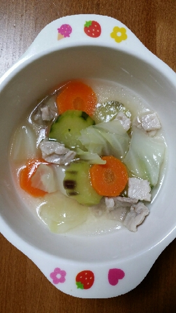 1歳のまんまるスープ