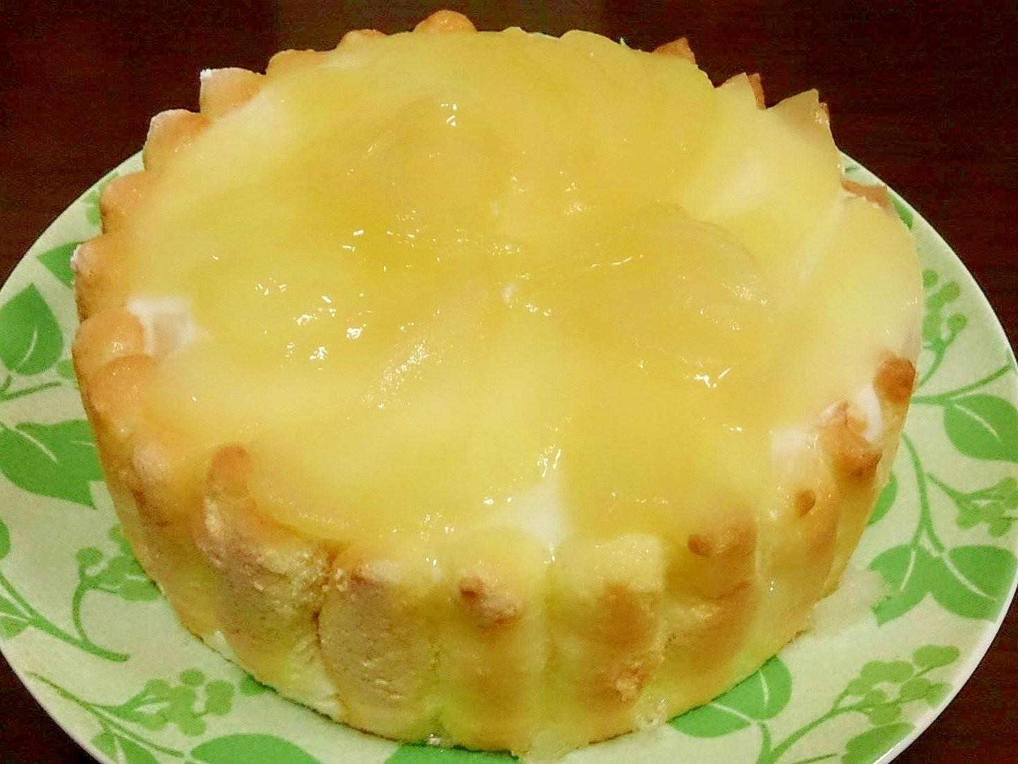 洋梨のチーズムース