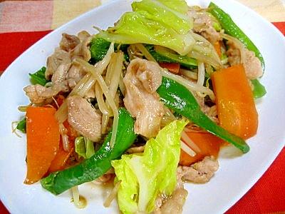 2. スパイシーでご飯がすすむ!「定食屋さんの肉野菜炒め」