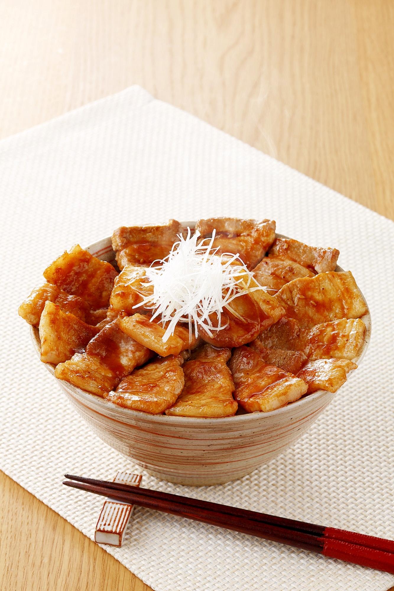 十勝風豚丼 レシピ・作り方