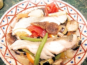 イタリアン魚のメイン料理にも前菜にも★タラの冷製