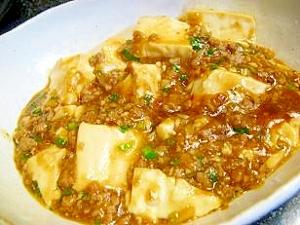 塩豆腐で失敗なし!簡単マーボー豆腐