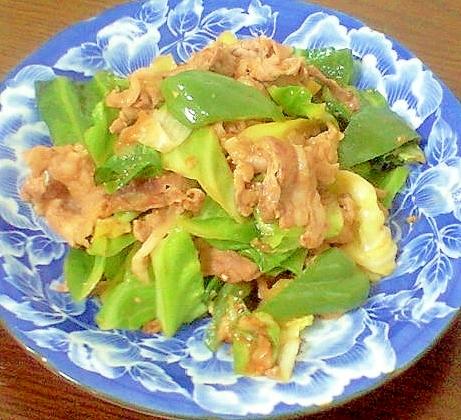 豚こまで作る楽チン回鍋肉