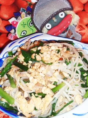 パッタイ風焼き素麺
