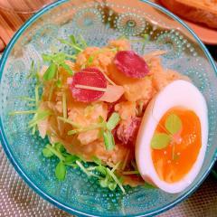 調味簡単!キムチの韓国風ポテトサラダ