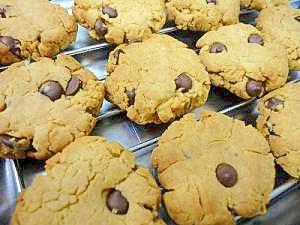 ピーナッツ×チョコチップクッキー