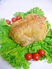 丸鶏のローストチキンforクリスマス