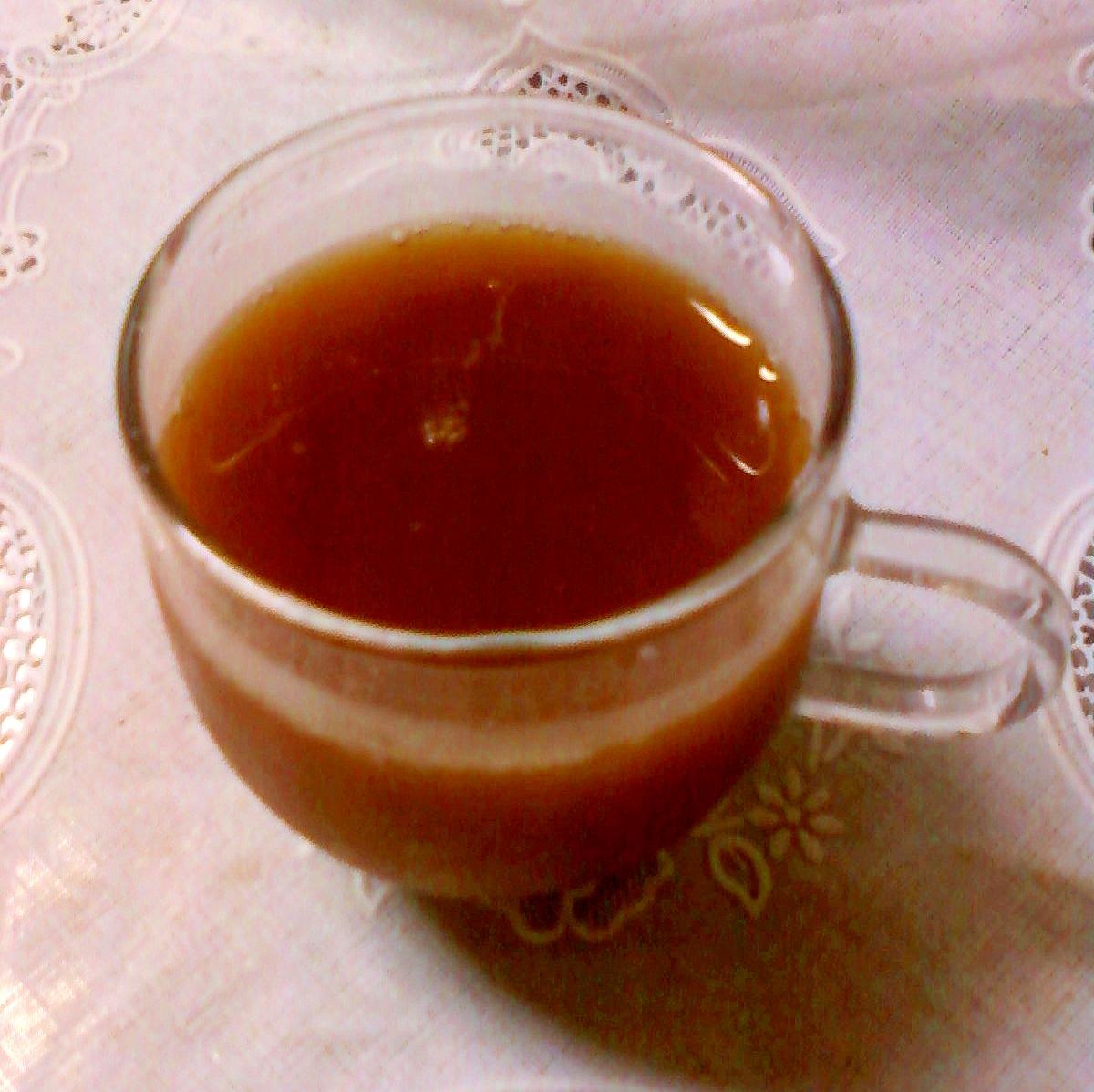 ☆*:・ほんわか気分☆甘酒入り緑茶コーヒー☆*:・