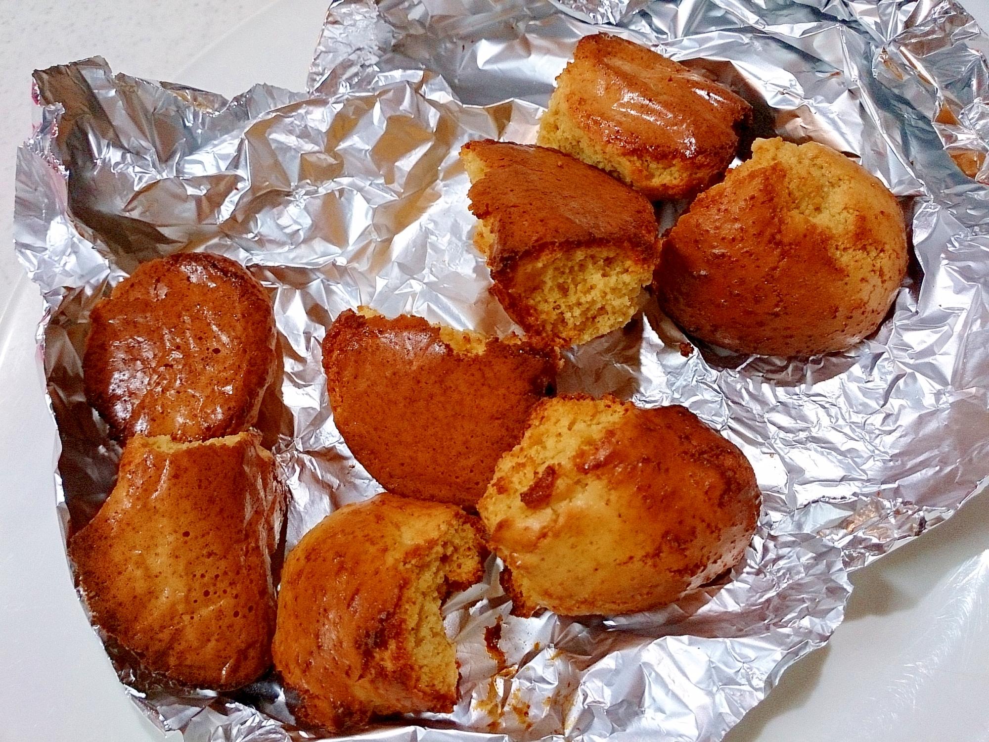 卵黄2個でコロコロ焼きドーナッツ(ノンフライヤー)