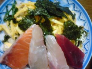 野菜たっぷり田舎風ちらし寿司