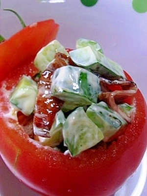 トマト の ファルシ