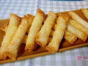 餃子の皮のチーズ巻き