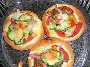 餃子の皮で、ピザ風簡単おつまみ