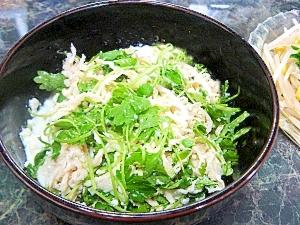 超簡単!!サラダセロリと切り干の塩豆腐和