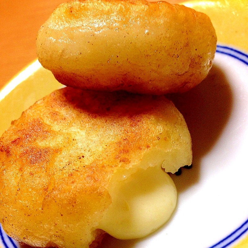 カリットロッモチッ♡簡単じゃがいもチーズ餅 レシピ・作り方 by ercr.|楽天レシピ