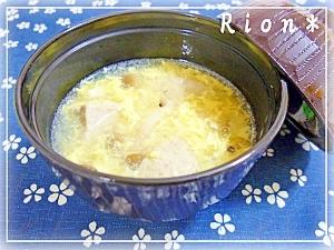 ぽかぽか♪♪中華風いわしつみれスープ