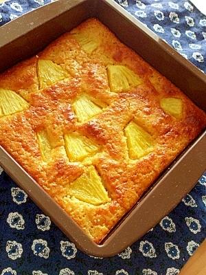 パイナップル ケーキ 作り方