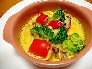 カラフル野菜のココット