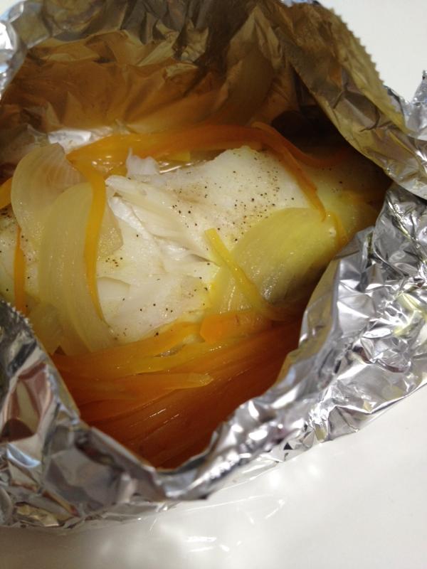 バター香る☆鱈のホイル焼き